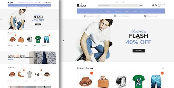 Expo - Multipurpose Responsive Magento2 Theme | Fashion Electronics Auto Cosmetic & Food