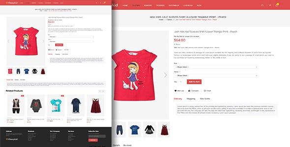 Klassy Kids Fashion - Electronics Magento 2.4 Theme