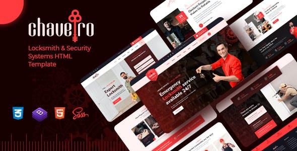 Chaveiro - Locksmith Business HTML5 Template