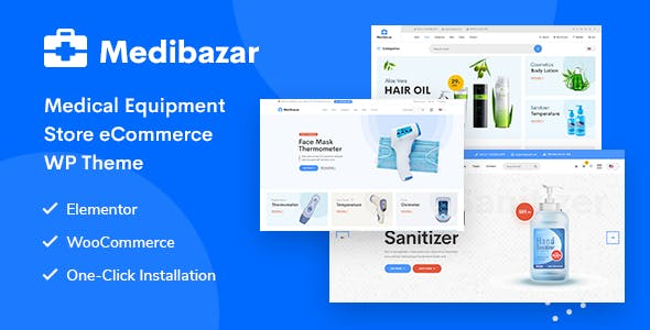 Medibazar - Medical WooCommerce Theme