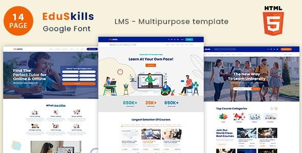 EduSkills - Online Courses & LMS Html Template - Miscellaneous Site Templates