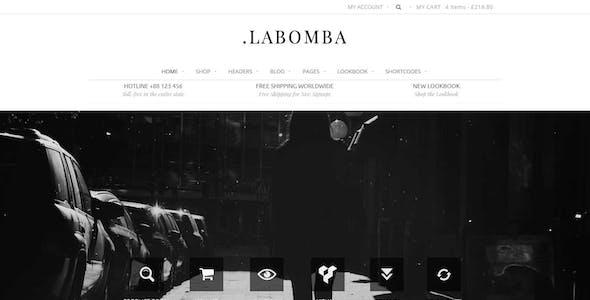 Labomba - Responsive Multipurpose WordPress Theme