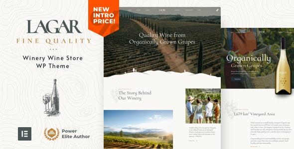 Lagar -  Winery Wine Shop WordPress - WooCommerce eCommerce