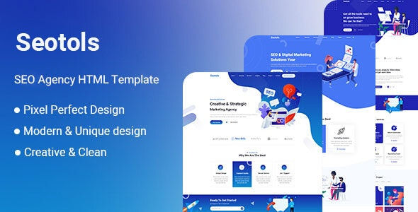 Seotols - SEO And Agency HTML Template - Corporate Site Templates