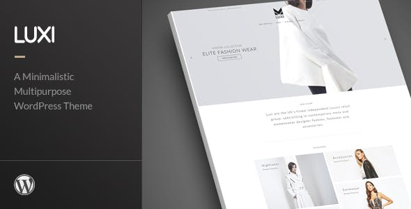 Luxi - Luxury Elegant WooCommerce WordPress Theme
