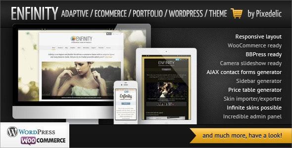 Enfinity - Adaptive Ecommerce Portfolio WP theme - WooCommerce eCommerce