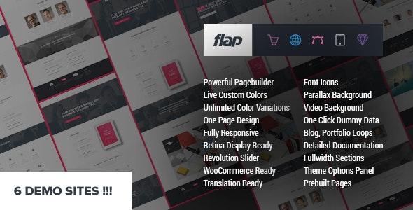 FLAP - Business WordPress Theme - Business Corporate