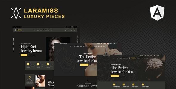 Laramiss | Jewelry Shop Angular Template - Shopping Retail