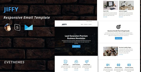 JIFFY - Responsive Email Newsletter