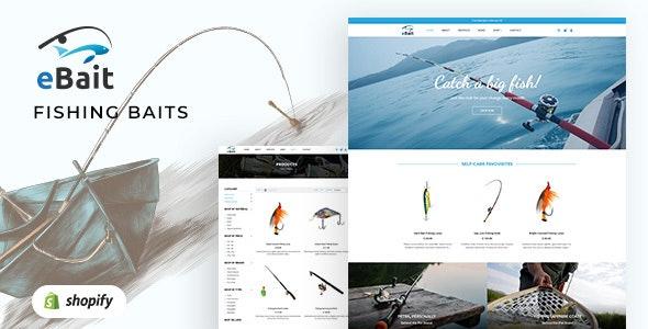 eBait - Hunting, Fishing Shop Shopify Theme - Shopify eCommerce