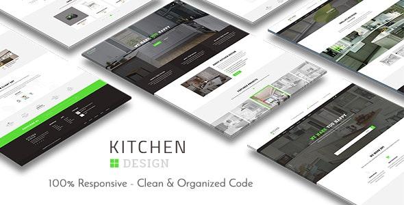 Kitchen - Design Responsive WordPress Theme - Business Corporate