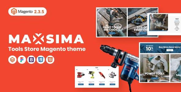 Maxsima - Tools Store Magento 2 Theme