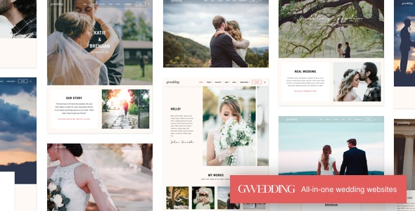 Grand Wedding WordPress - Wedding WordPress