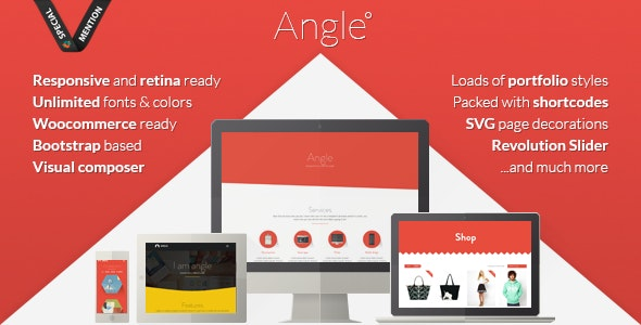 Angle Flat Responsive Bootstrap MultiPurpose Theme - Creative WordPress