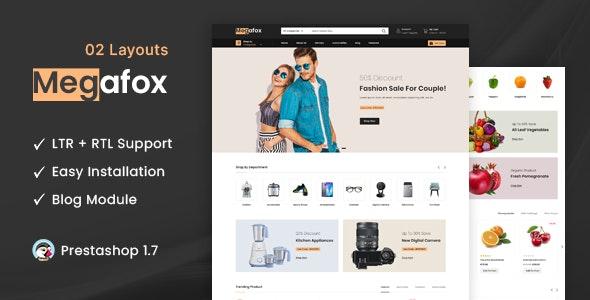 Megafox - Multipurpose Prestashop 1.7 Responsive Theme - Shopping PrestaShop