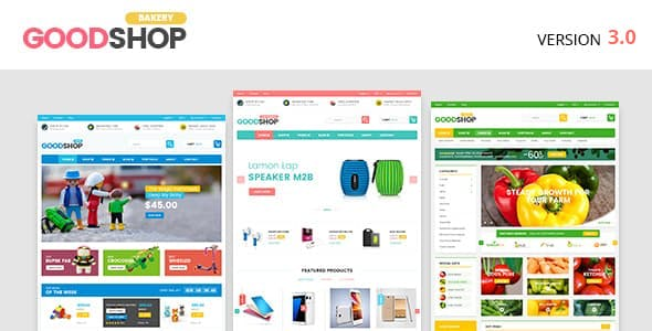 Good - Food WooCommerce Theme