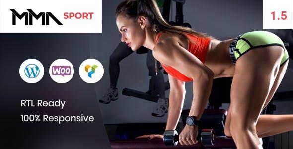 MMAsport - Sporting Club Shop WooCommerce Theme