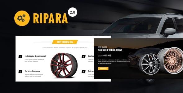 Ripara - Auto Repair & Car WooCommerce WordPress Theme - WooCommerce eCommerce