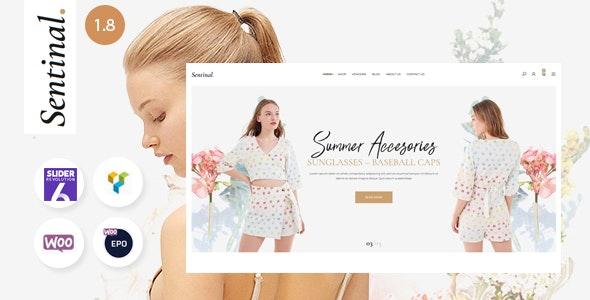 Sentinal - Fashion  Modern Shop WooCommerce Theme - WooCommerce eCommerce