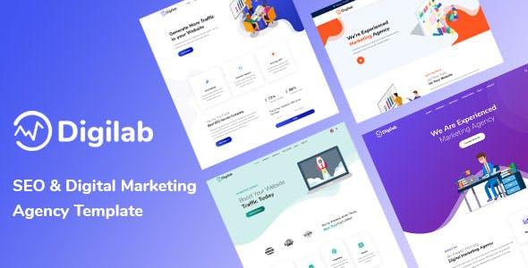 Digilab - SEO & Digital Marketing Agency Template