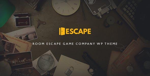 Escape | Room Game Company WP Theme