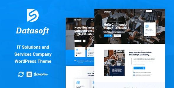 Datasoft - IT Solutions & Services WordPress Theme