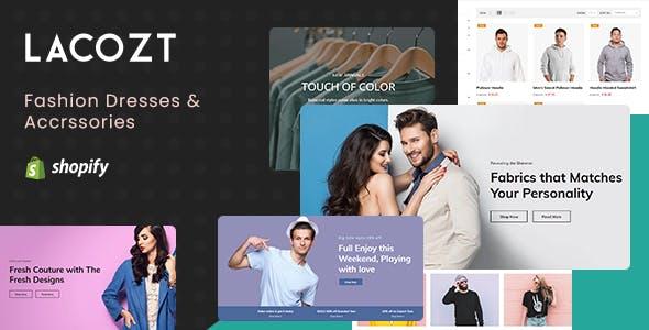 Lacozt - Multipurpose Clothing and Fashion Store Shopify Theme
