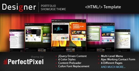 Designer Portfolio - Creative Site Templates