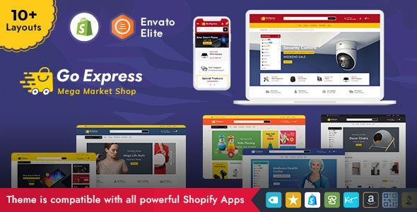 Go Express - Shopify Multi-Purpose Responsive Theme - Shopping Shopify