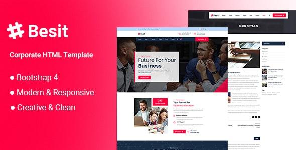 Besit - Corporate HTML Template - Business Corporate