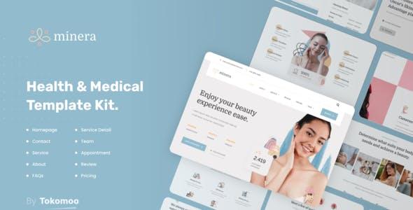 Minera   Skincare & Dermatology Elementor Template Kit