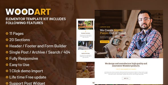 WoodArt - Artisan Template Kit