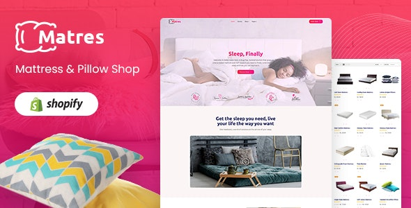 Matres - Responsive Single, One Product Shopify Theme - Shopify eCommerce