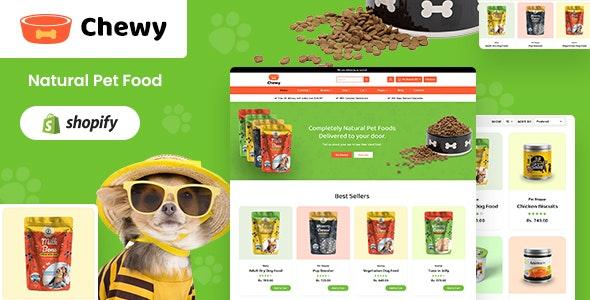Chewy - Pet Shop Shopify Theme - Shopify eCommerce