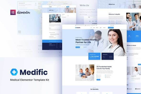 Medific - Medical Elementor Template Kit - Health & Medical Elementor