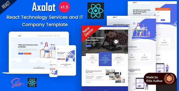Axolot - React IT Solutions & Digital Services Company - Business Corporate