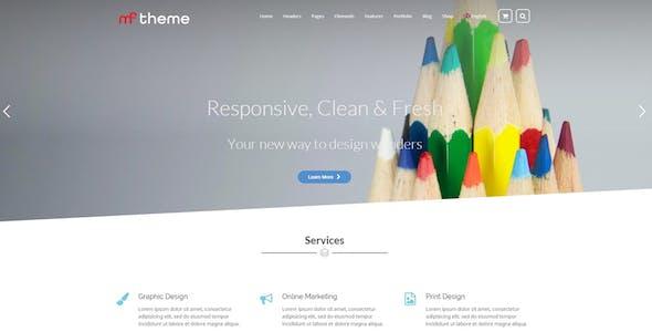 MF - Multipurpose WordPress Theme