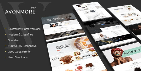 Creative Multipurpose WordPress Theme -  Avonmore - Creative WordPress
