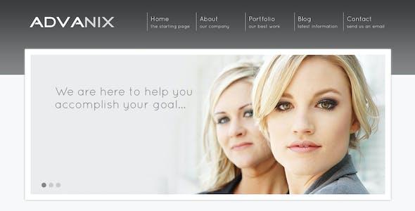 Advanix - Corporate Business HTML Template