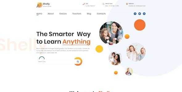 Shelly – School Website Template