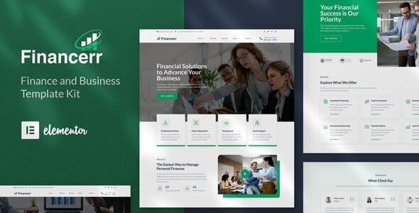 Financerr - Business & Finance Template Kit