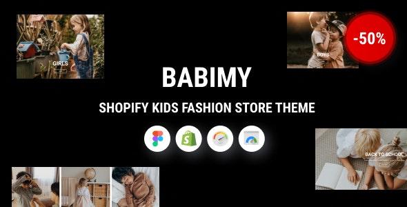 Babimy - Shopify Kids Fashion Store Theme - Shopping Shopify