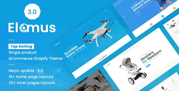 Elomus Shop - Single Product Shopify Theme - Miscellaneous Shopify