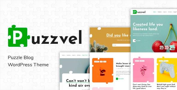 Puzzvel – Puzzle Blog WordPress Theme - Blog / Magazine WordPress