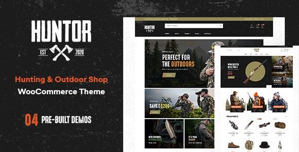 Huntor - Hunting & Outdoor Shop WooCommerce theme - WooCommerce eCommerce