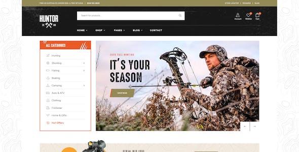 Huntor - Hunting & Outdoor Shop WooCommerce theme