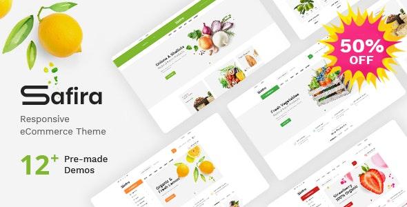 Safira - Food & Organic WooCommerce WordPress Theme - WooCommerce eCommerce