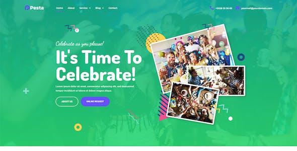 Pesta Kit - Event Planner & Organizer Elementor Template Kit