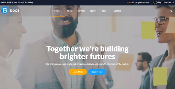 Boos - Business Figma Template
