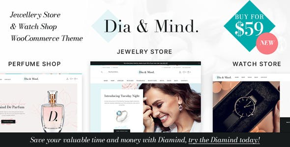 Diamind - Jewelry & Watch Store